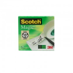 Cinta Adhesiva Scotch Magic 3M