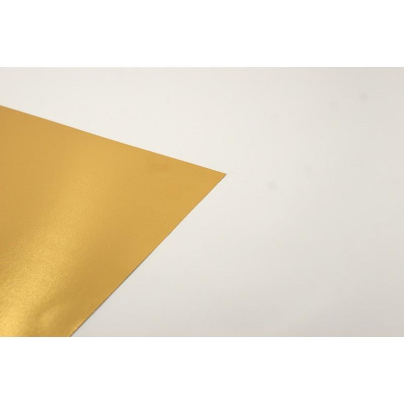 Cartolina metal.litzada or