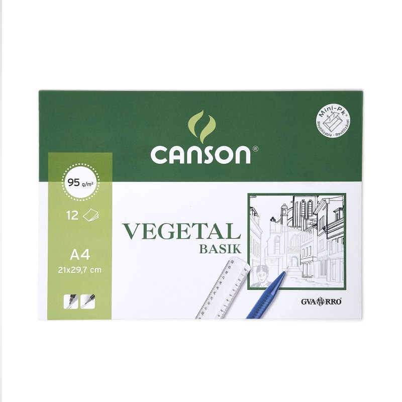 Pack Paper Vegetal Canson