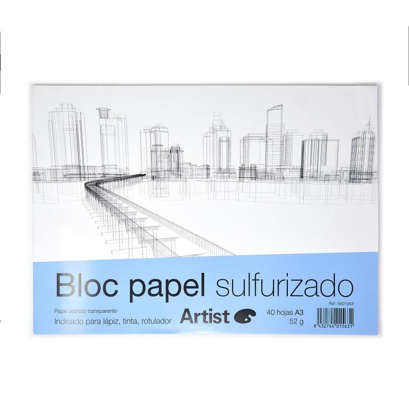 Bloc Paper Sulfuritzat A3