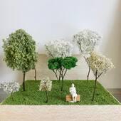 . 🌳Avui tenim aquests! . 🌲 ¡Hoy tenemos éstos! . 🌴Today we have these ones! . 👉Encarrega'ns el tipus d'arbre o planta que necessitis per a la teva maqueta! . #trees #scalemodel #maqueta #modelism #modeling #modelismo #vegetacion #arbol #nature