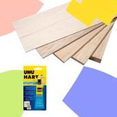 🔸FUSTA DE BALSA🔸 . ✏️La fusta de balsa és dels materials més utilitzats per fer maquetes, ja que és una fusta molt tova, lleugera i fàcil de manipular. . 🪓A favor de la veta es talla especialment bé i permet curvar-se lleugerament. . 👉El millor adhesiu per enganxar-la és l'UHU Hart, especial per fusta de balsa i modelisme . 🖍La madera de balsa es de los materiales más utilizados para hacer maquetas ya que es una madera muy blanda, ligera y fácil de manipular. . 🪓A favor de la veta se corta especialmente bien y permite curvarse ligeramente. . 👉El mejor adhesivo para engancharla es UHU Hart, especial para madera de balsa y modelismo. . #balsa #maderabalsa #UHU #UHUHart #modelismo #maqueta #madera #balsawood #maquetaarquitectura #maqueta