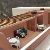 . ✏️Escenes quotidianes en maqueta . 🖍Escenas cuotidianas en maqueta . 🖌Scalemodel daily scenes . #scalemodeling #scalemodel #onlymaquette #architecture #arquimaquetas #maquetas #modelismo #modelism #maquette #scalemodeling #maquetisme #maqueta #maquetaarquitectura #scenes  #escenas #miniaturas  #miniatures