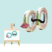 🎨CINTA DE PINTOR🎨 . 🖌️La cinta de pintor és famosa per la gran quantitat d'usos que se li poden donar; des de protegir zones quan estem pintant parets fins a marcar zones al terra de manera provisional creant laberints per als més petits!🚸 . 👉Al nostre taller és un imprescindible, sempre n'hi ha 4 o 5 rondant dins un porta rotlles preparada per quan necessites ajuntar dues peces fins que l'adhesiu faci efecte, per apuntar notes, per etiquetar productes, per embolicar les varetes de fusta de la botiga... . 💫El que fa únic aquest producte és que no enganxa de manera permanent i es pot treure i posar de qualsevol superfície sense que quedin marques! . 💭I tu, quins usos li dones? . #cintadepintor #woodworking #wood #work #workshop #artsandcrafts #crafting #arquitectura #maquetaarquitectura #maquette #miniature #artsandcraftshop